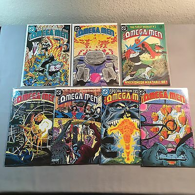 Omega Men Lot / 1 2 4 5 7 8 10 / 9.2 - 9.4 Or Better / White Pages / 1983-84
