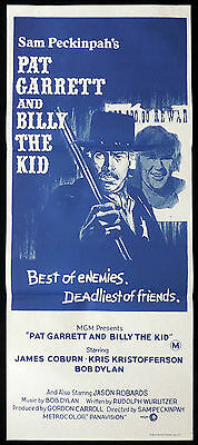 PAT GARRETT AND BILLY THE KID Daybill Movie Poster Kris Kristofferson