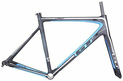 GT GTR ELITE Full Carbon Road Bike Bicycle 700c Frame Blue L