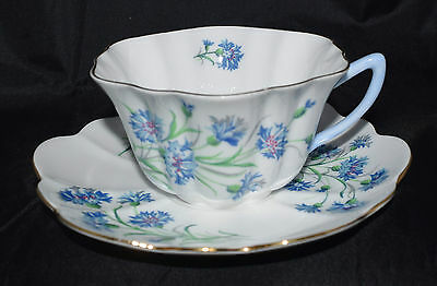 Shelley China England Cornflower Stratford Cup and Saucer