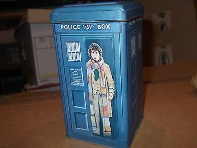 DOCTOR WHO rare vintage 80's TARDIS coin bank TOM BAKER