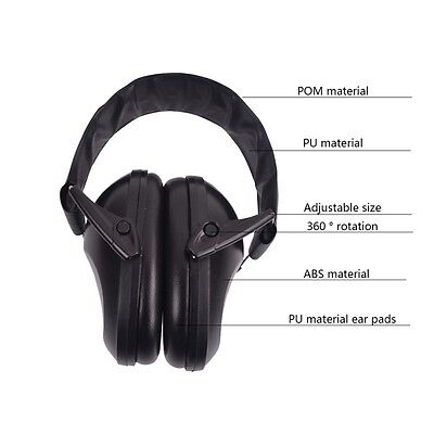 Hearing Protector Anti-noise Earmuffs Electronic Ear Protection For Shooting New