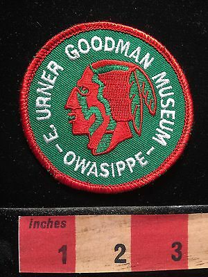 E Urner Goodman Museum Owasippe Chicago Area BSA Patch Native American v. 7 67T
