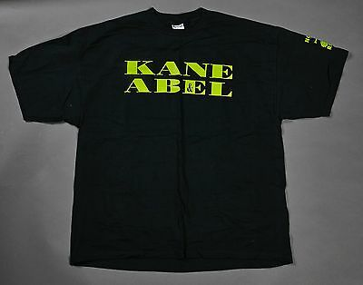 VINTAGE KANE & ABEL NO LIMIT RECORDS AM I MY BROTHERS KEEPER SHIRT 90S Rap XXL