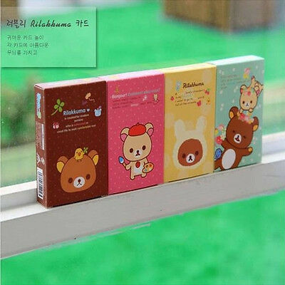 Cute Pattern Bear Game Poker Playing Cards Many Color Entertainment Portable New