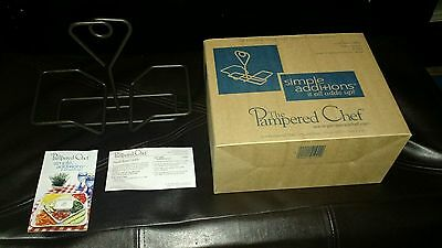 The Pampered Chef Small Bowl Caddy #1944 Simple Additions New In Box