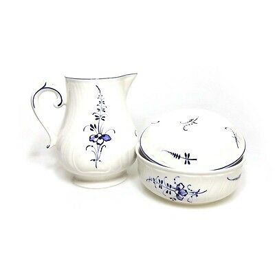 Villeroy & Boch Vieux Luxembourg Trinket Dish w' Lid & Jug FREE EXPRESS POST AUS