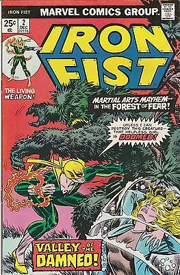 Iron Fist #2 VF+ (1975) #3 VF+ (1976) and #4 FN- (1976). Claremont/Byrne Netflix