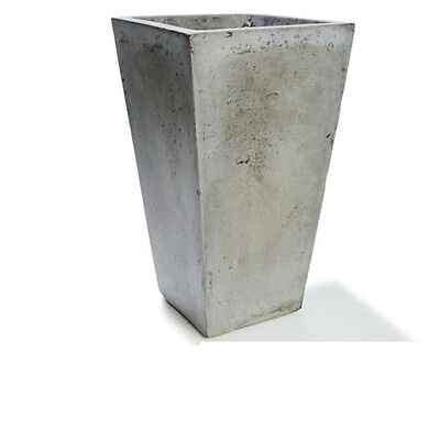 Rustic Tall Tapered Plant Pot Grey Garden​ Pots Stand Planter Decor​ Outdoor