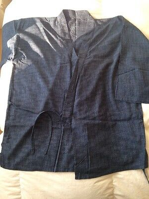 """Men's Japanese Clothing  """"Samui"""" Top And Trousers Free Size M-L"""