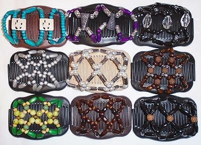 Double Hair Combs, African Style Butterfly, Angel Wings Clips, Style,Quality S74