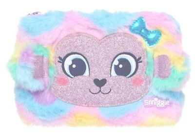 "BEAR-RY Pretty FLUFFY  RAINBOW 🌈 COLOURS   🐻🐻 "" HardTop Pencil Case (SMIGGLE)"
