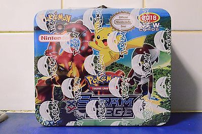 Pokemon Go Steam Siege Trading Card Game 150 Cards Sealed Tin 2018 New  Lunchbox