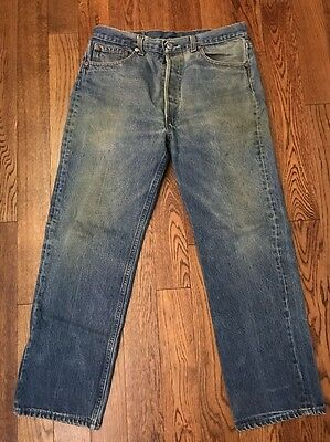 Vintage Levi's 501 Made In USA - 35 X 28