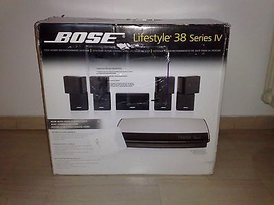 Bose Lifestyle 38 IV Series 5.1 DVD, Acoustimass,  Home Theatre System