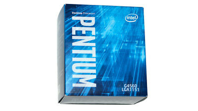 Intel Pentium G4560 - Kaby Lake LGA1151, 3.5GHz, 3MB - Retail Box with Cooler -