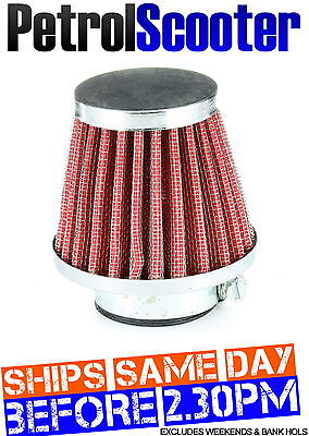 Pit Dirt Bike 32mm K N Air Filter Red ATV Scooter Motorbike Quad Piaggio Aprilla
