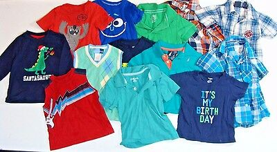 Lot of 25 Piece Baby Boy 18 Month Clothes One-Zees, Shirts, Pants, Shorts, Coat