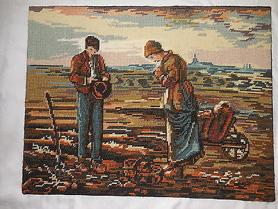 Tapestry Margot L'angelus  Completed And On Backing  Unframed