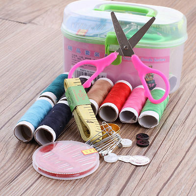 1Set Multifunction Sewing kit Needle/Thread/Button/Pin Hand Crafts Sewing Tool