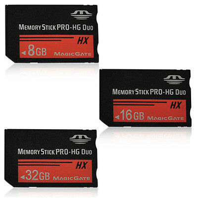 8/16/32GB Memory Stick MS Pro Duo Memory Card For Sony PSP and Cybershot Camera