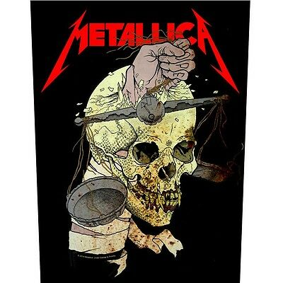 Metallica Harvester of sorrow Back Patch XLG free worldwide shipping