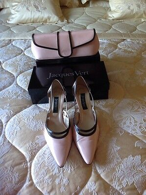 Beautiful Jacques Vert Mother Of The Bride/groom/guest Shoes And Bag