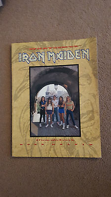 Iron Maiden History What Are We Doing This For Ross Halfin Book 1988