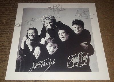 Duran Duran BAND Signed Autographed Greeting Card Promo 8 × 8