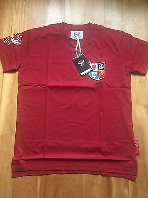 British Lions Rugby T Shirt