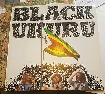 "Black Uhuru - Vital Selection VX 1004 - 12"" vinyl LP  Reggae"