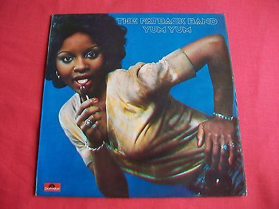 The Fatback Band - Yum Yum - Uk Lp 1975 Orig. Polydor Acb 00238 Plays Excellent