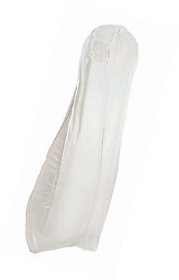 New White Breathable Wedding Bridal Dress Garment Bag (600GBB)