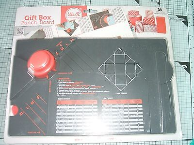 we r memory keepers box punch board NEW