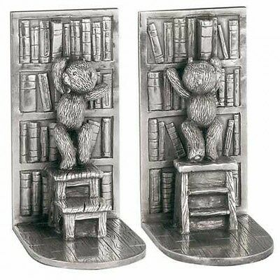 Royal Selangor – Pewter Library Bookends - Teddy Bear's Picnic - Children's Gift