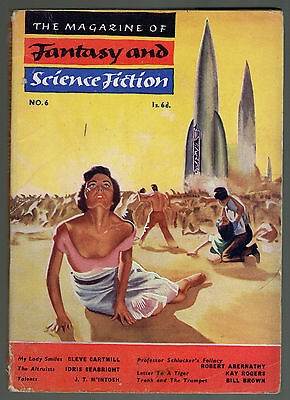 Fantasy and Science Fiction No.6, March 1954 Vol.2 No.2, Poul Anderson, J T M'In