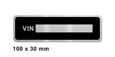 Harley Davidson motorcycle plate 100x30mm data plate quality vin-tage new