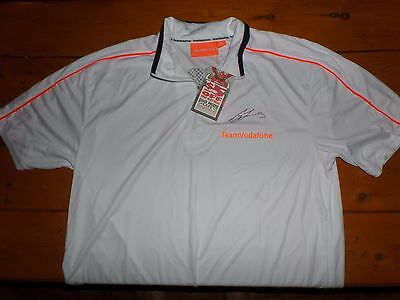 Craig Lowndes Team Vodafone Signature Shirt - 888, V8 Supercars! Bathurst Champ!