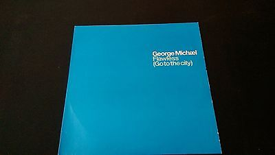 """George Micheal - Flawless (Go To The City) REMIXES 12"""" Vinyl PROMO (VGC)"""
