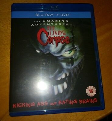 Amazing Adventures Of The Living Corpse (Blu-ray and DVD Combo, 2013, 2-Disc Set