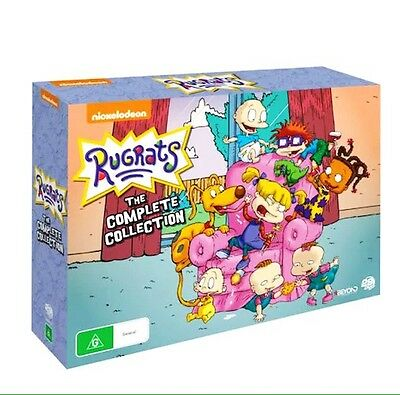Rugrats Complete Collection DVD Box-Set, Region 4, Brand New
