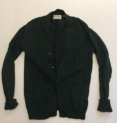 VINTAGE MEN'S CARDIGAN SWEATER ANDERSON LITTLE CO. SIZE M Kurt Cobain