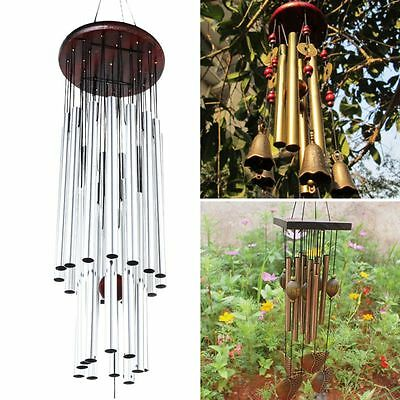 Home Outdoor Garden Yard Decor Wind Chimes Wind Bells Windchimes Copper Gifts