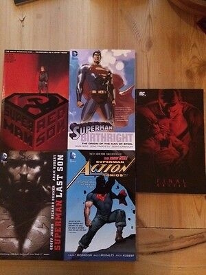 Superman Comics DC Red Son Birthright All Star Quitely Grant Morrison crisis