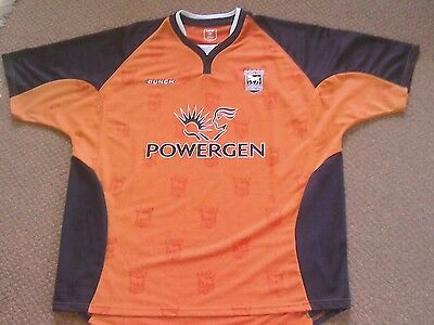 Punch Ipswich Town away football shirt season 2004/6, size3xl