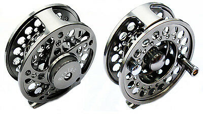 Fly Fishing CNC Aluminium Alloy 5/6 Rod Trout Fly Reel, Salmon, Sea Trout.
