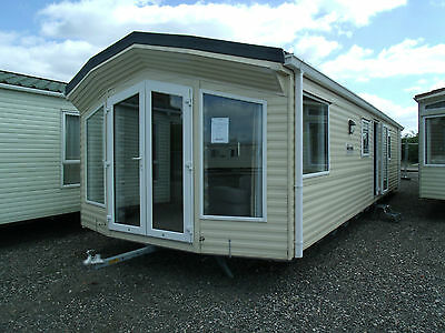 WILLERBY WINCHESTER 2012 38x12 2 bedrooms WINTERISED static caravan off site