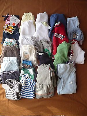 26 BABY BOY CLOTHES SIZE 000 to 00