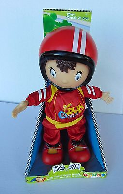 """Noddy ~ My Friend Racer in Toyland - 11"""" Action Figure Doll - New"""