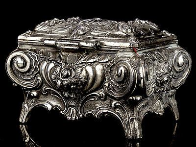 American Art Metal Jewellery Box circa 1910